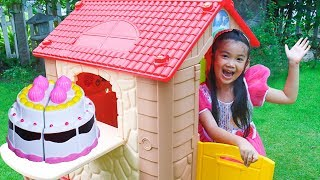Hana Pretend Play with Kids House PLAYHOUSE Toy