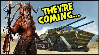 Crossout - New Faction & Two MASSIVE 10K Powerscore Vehicles (Crossout Gameplay)