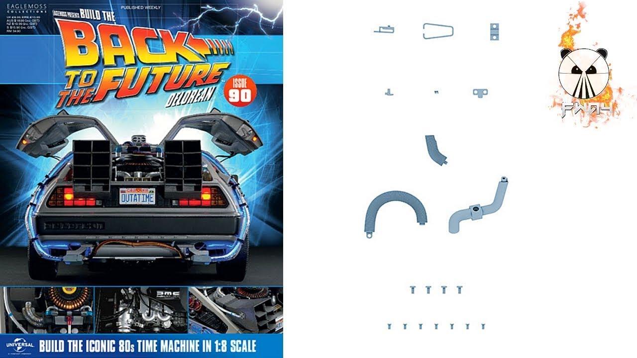 Build The Back To The Future Delorean: Issue 90 - Engine ...