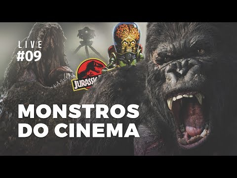 Live #09 | Monstros do Cinema