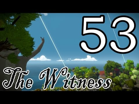 [53] The Witness - Endgame Part 1 (A Heavenly Ride) - Let's Play Gameplay Walkthrough (PS4)