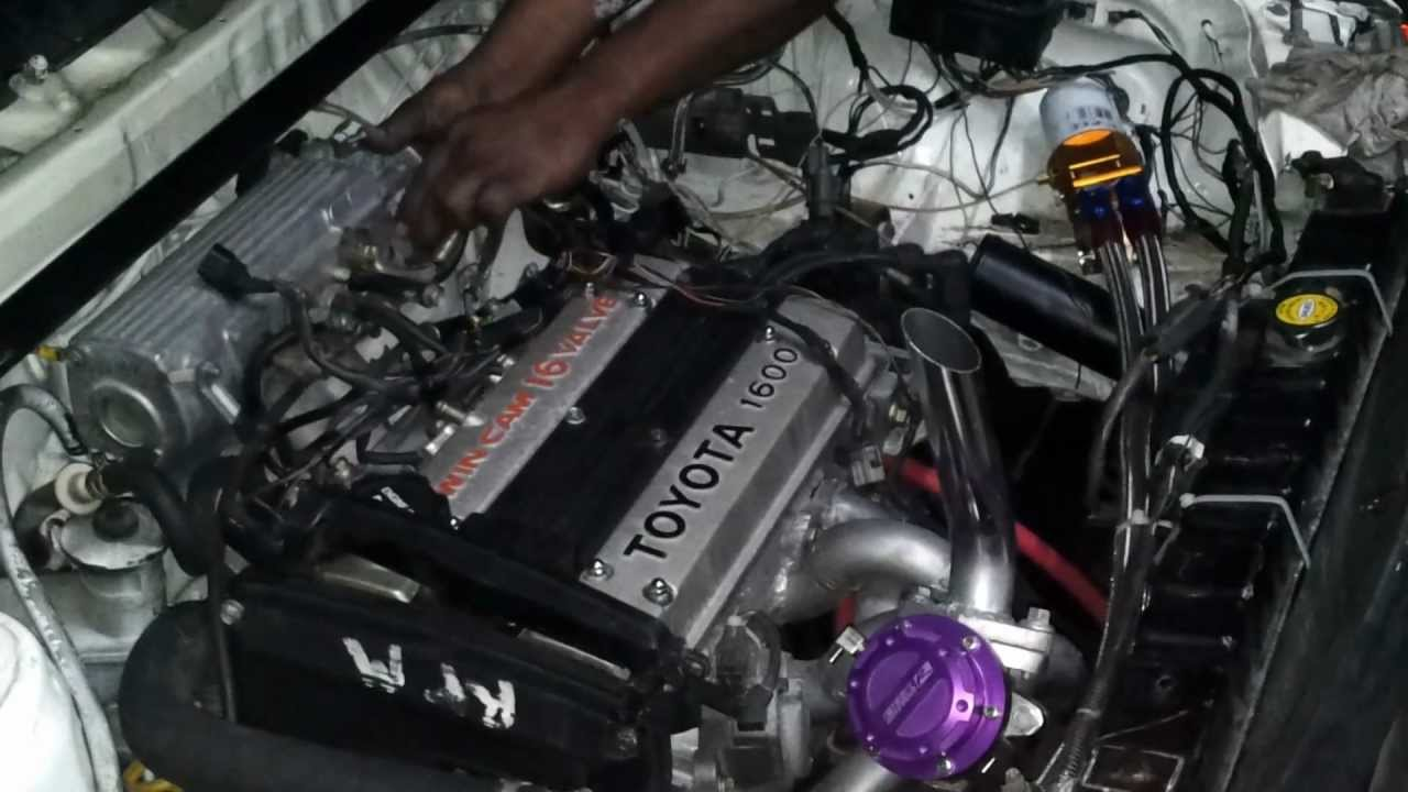 Ep71 Starlet 4age Turbo First Start Up