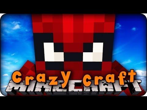 Minecraft Mods - CRAZY CRAFT 2.0 - Ep # 48 'WE NEED SPIDERMAN!!' ( Superhero Mod) - 동영상