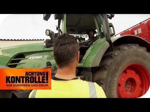Traktor-Kontrolle! Polizist kontrolliert wieder seinen Nachbarn!   Achtung Kontrolle   kabel eins