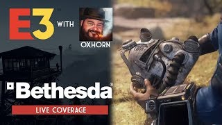 Bethesda's E3 Announcement! Live Coverage with Oxhorn & Community