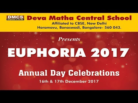 Deva Matha Central School Banaswadi Annual Day 2017