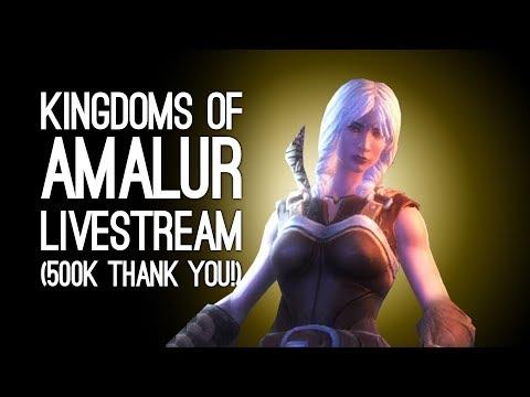 Kingdoms of Amalur LIVESTREAM: 500k Subs Thank You Stream - Oxtra Plays KoA Plus Q&A LIVE @ Server