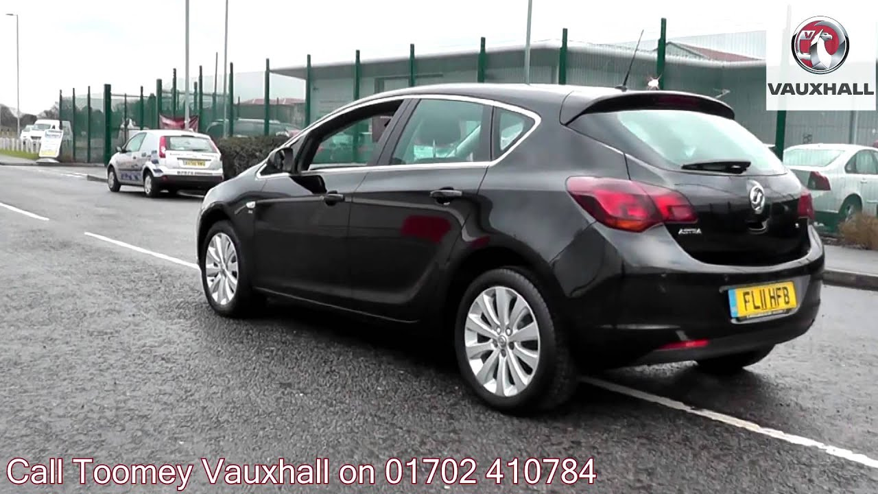 2011 vauxhall astra se black fl11hfb for sale at toomey vauxhall southend youtube. Black Bedroom Furniture Sets. Home Design Ideas