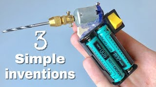 3 USEFUL DIY ideas and Simple Homemade inventions