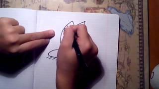 Как нарисовать: Кот Саймон