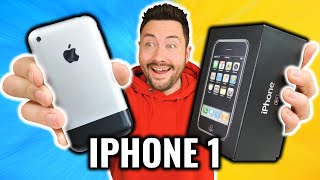I bought the 1st iPhone ! (almost new but 1000 € ...)