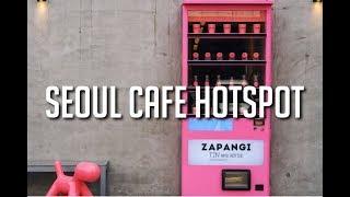 aesthetic korean seoul cafe korea food