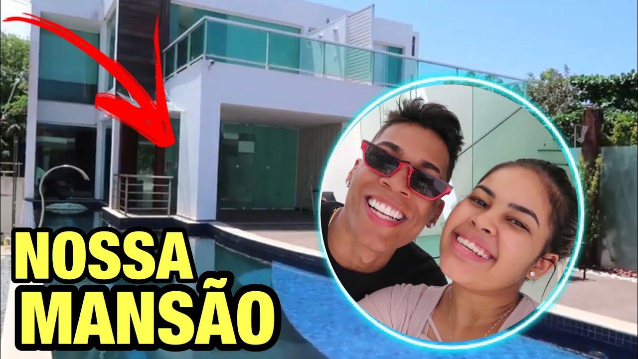 ABNER E STE - TOUR PELA NOSSA MANSÃO!! *muuuito top*