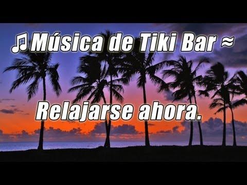 Barra de Tiki luau instrumentales musica tropical salon hawaiano Fiesta playa hula isla canciones