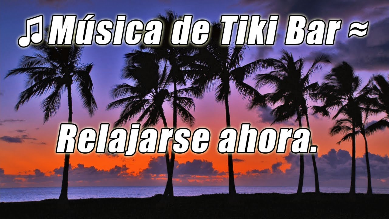 Barra de tiki luau instrumentales musica tropical salon for Tiki hawaiano