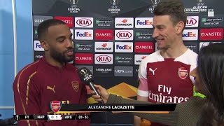 Lacazette: I've been practicing free-kicks, my teammates believe in me!""