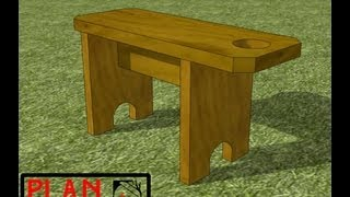 Chief's Shop Plan Of The Week: Picnic Stool