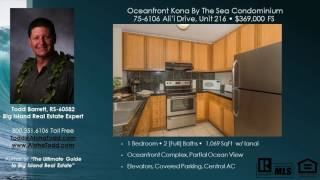 Big Island Oceanfront Vacation Rental Condos for Sale Kona By the Sea 75-6106 Alii Drive