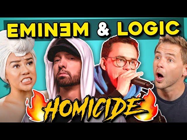 Adults React To Logic - Homicide Ft. Eminem