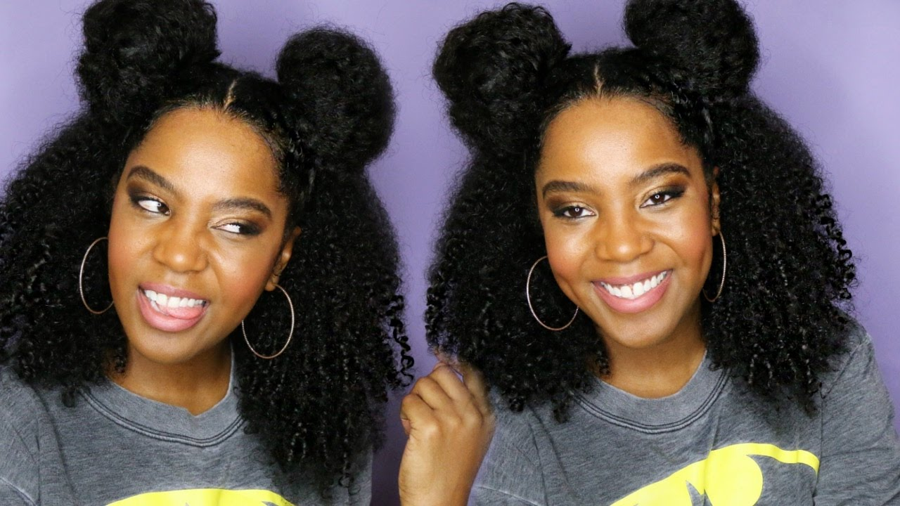 How To Make Natural Hair Hang Down