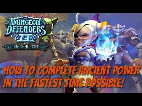 DD2 - Fastest Ancient Power Resets - Onslaught Only!