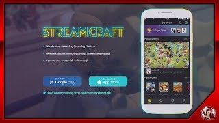 StreamCraft Nueva【Web/APP】- Para Hacer Directos des de 【Android/IOS/PC】