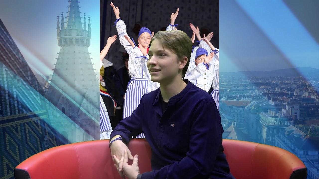 Jungkünstler  Jonas Tonnhofer aus Leopoldsdorf eroberte nicht nur einmal  die Theaterherzen