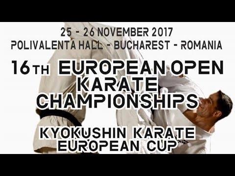 European Cup Karate Kyokushin Bucharest 2017 - mate 2