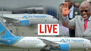 Full Video: Rais Magufuli Akipokea NDEGE Mpya AIR BUS 220