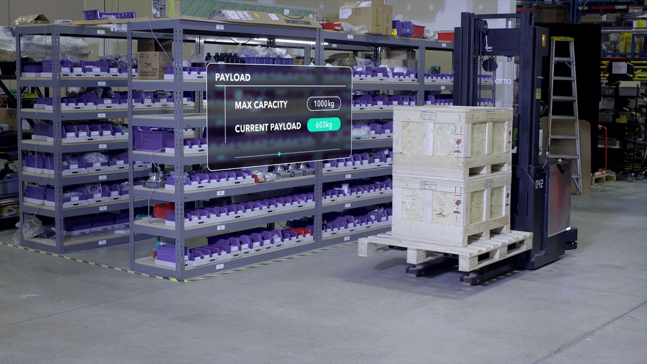 OTTO™ OMEGA: The First Truly Self-Driving Lift Truck
