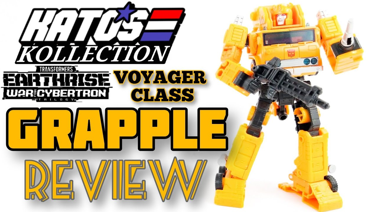 WFC-E10 Earthrise Grapple Review by Kato's Kollection