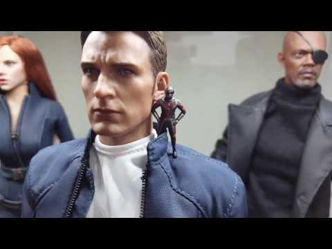 Hot toys + 1/6 figures marvel collection update