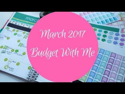 Budget With Me! {March 2017}