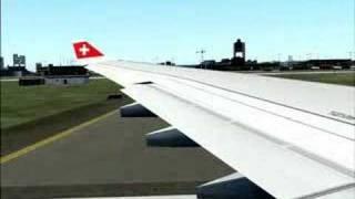 FS2004 Swiss A332