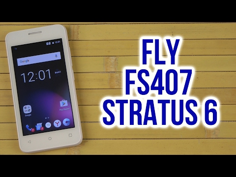 Распаковка Fly FS407 Stratus 6 White