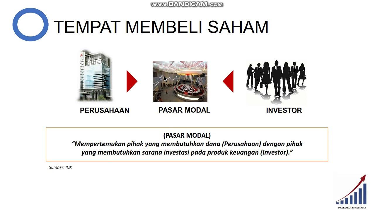 CARA INVESTASI SAHAM UNTUK PEMULA (MODAL 100RB)!!! - YouTube