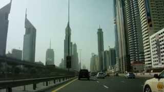 Sheikh Zayed Road - Ghweifat International Highway - Dubai (Burj Khalifa)