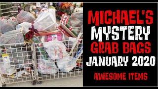 Michaels Grab Bags January 2020