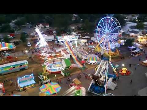 A bird's eye view of the Lenawee County Fair
