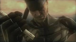 Metal Gear Solid 4 - Liquid Ocelot Cutscene and Fight (1/2) 720p HD