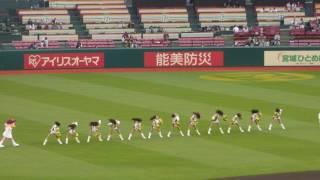 平成29年5月11日 会場:東北楽天コボパーク球場.