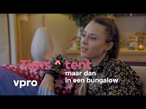 Nina Pierson in Tims ^ tent: maar dan in een bungalow