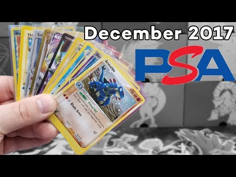 Pokemon Card PSA Submissions! | December 2017