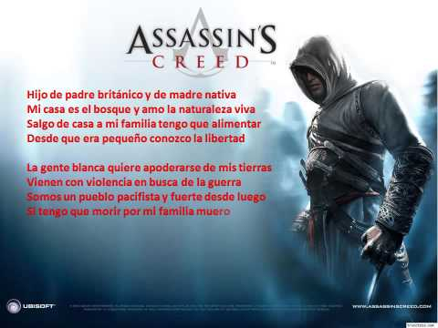 karaoke de rap de assasins creed 3 (zarcort)