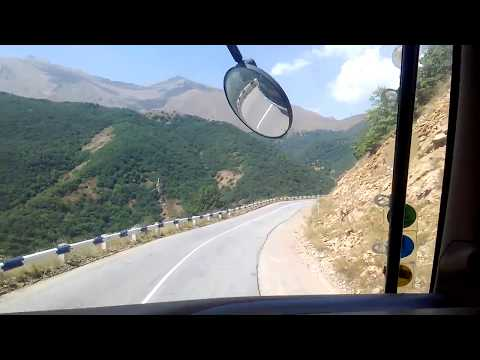 Автостоп на фуре в Армении, еду к границе с Ираном; Каджаран - Мегри - Агарак