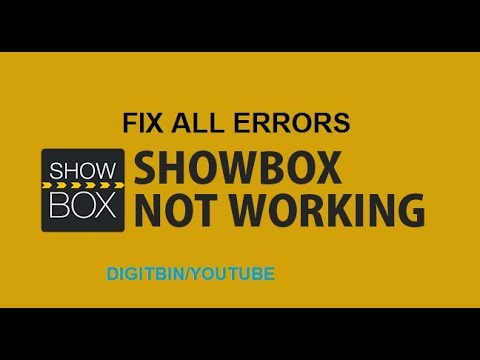 Fix ShowBox - Not Working | No Loading | Server Error 1