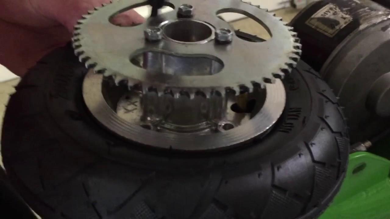 razor e200 rear tire replacement [ 1280 x 720 Pixel ]