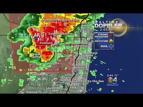 Tornado Warning In Parkland/Coral Springs Area