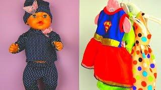 Кукла Беби Бон Идет в Магазин Одежды. Одежда для Кукол Baby Born Видео для Девочек l #EllaTvShow