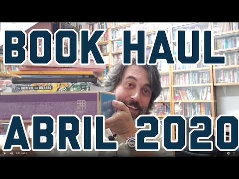 Novos Na Estante - Book Haul Abril 2020